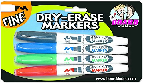 The Best Board Dudes Dry-Erase Marker - Qty 6