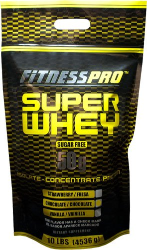 Fitness Pro Lab Inc. Super Whey, Chocolate, 10-Pound