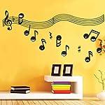 Black Music Notes Symbols Wall Decal...