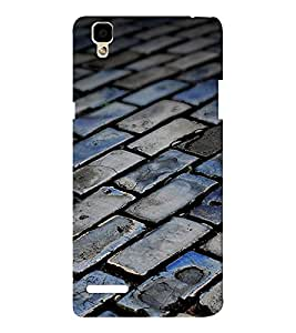 EPICCASE foot path Mobile Back Case Cover For Oppo F1 (Designer Case)