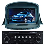 ChiLin Peugeot 206 Intelligent Navigation System with High Touchscreen GPS DVD Player Built-in GPS,Bluetooth,TV,AM/FM with RDS, iPod,steering wheel control,rear view camera input