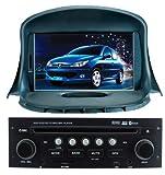 PIONE-プジョー206-GPSナビゲーションシステム対応のブルートゥース TVのiPodのFM / AM USB SDを持つ7インチのデジタルタッチスクリーン、特殊なダッシュカーDVDプレーヤーのためのフリーフォーム