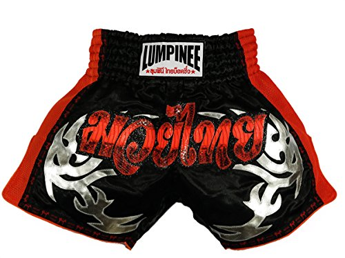 lumpinee-retro-original-muay-thai-shorts-for-kick-boxing-fight-lumrto-010-xxl-red-viper