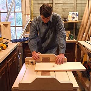 Crosscut Sled - Miter Sled - Box Joint Jig All-In-One Combo