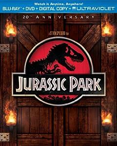 Jurassic Park (Blu-ray + DVD + Digital Copy + UltraViolet) from Universal Studios