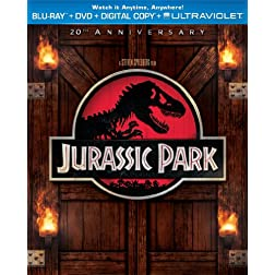 Jurassic Park (Blu-ray + DVD + Digital Copy + UltraViolet)