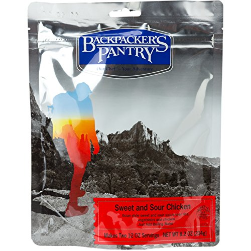 Backpacker's Pantry Sweet & Sour Rice with Chicken, Two Serving Pouch (Organic Freeze Dried Carrots compare prices)