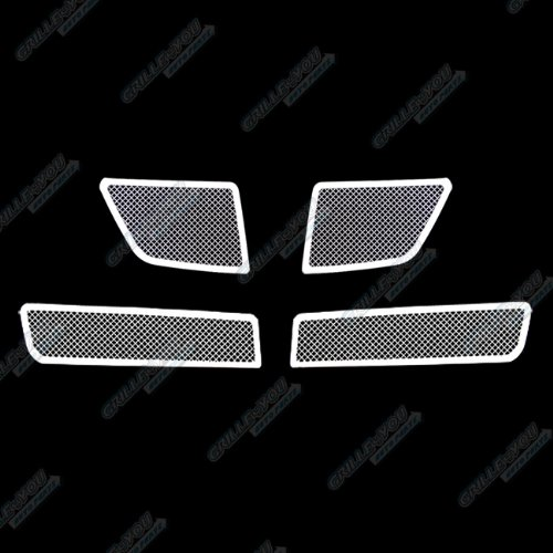 08-09 Pontiac G8 Stainless Steel Mesh Grille Grill Combo Insert (Pontiac G8 Grille Insert compare prices)