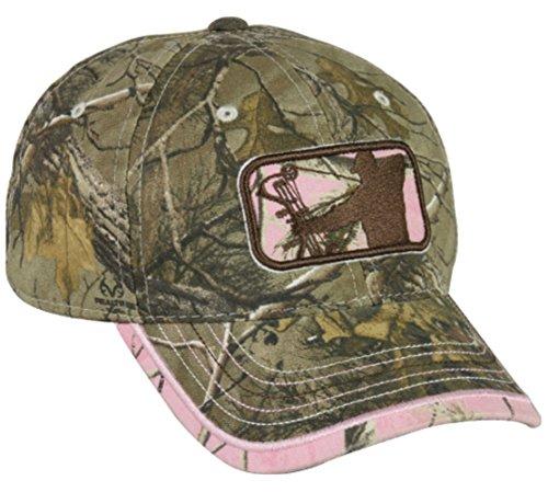 Sale!! Ladies Major League Bowhunter Realtree Xtra/Realtree APC Pink Hunting Hat