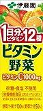 伊藤園 ビタミン野菜(紙パック) 200ml×24本