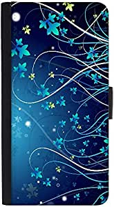 Snoogg Underwater Plants Designer Protective Phone Flip Back Case Cover For Samsung Galaxy J7 (2016)
