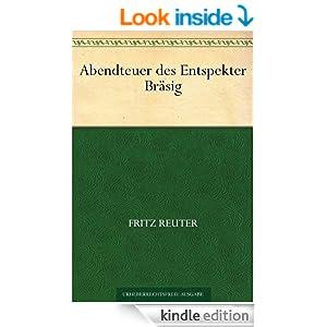 Abendteuer des Entspekter Bräsig (German Edition)