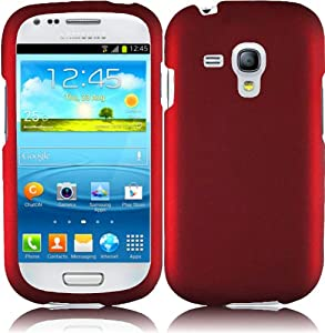 Samsung Galaxy S3 Mini - Retail Packaging - Red: Cell Phones