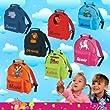 Kindergartenrucksack mit Namen & Wunsch-Motiv pink