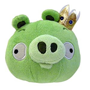 Angry Birds Plush 12-Inch  King Pig with Sound