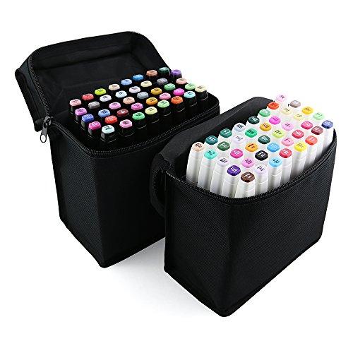xcsource-40stk-farbe-marker-pen-set-alkohol-zwilling-spitze-breit-feinpunkt-fur-kunst-zeichnung-graf