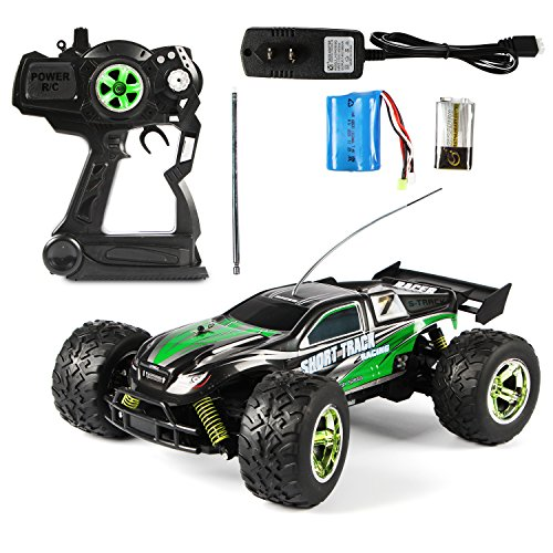ALY S800-Foxx 1:12 High Speed Racing Car Toy 2.4GHz RTF RC Vehicle 4WD Electric Truck Off Road (Green) (Nitro Trucks 4x4 compare prices)