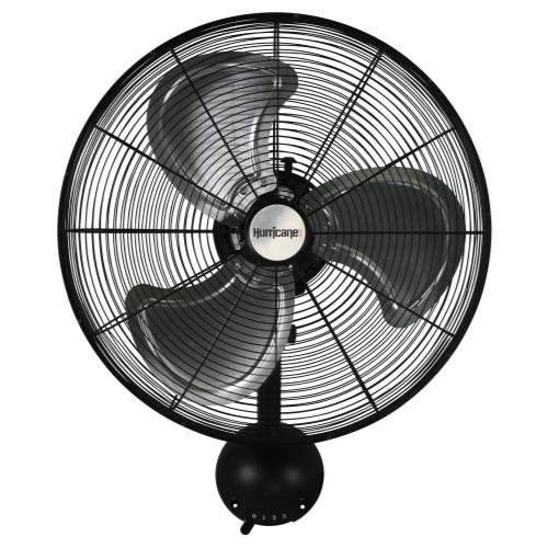Hurricane Pro High Velocity Metal Wall Mount Fan, 20