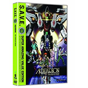 Aquarion: Complete Series Box Set S.A.V.E. movie