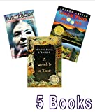 img - for Summer Reading Grade 7 - 9: Finding Miracles; a Wrinkle in Time; the Turnabout; Walk Two Moons book / textbook / text book