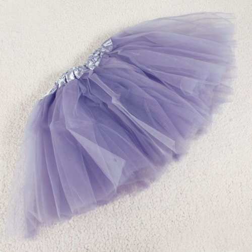 Lavender Girls Tulle Ballet 3-layered Tutu Skirt Fairy Princess Costume/ballerina