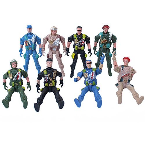 Army Toys Color : Pcs army soldier men action figures color may vary toys