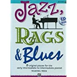 "Jazz, Rags & Blues 2 (Buch & CD): 8 original Pieces for the early intermediate to intermediate Pianistvon ""Martha Mier"""