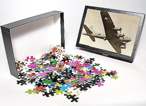 Photo Jigsaw Puzzle of Boeing B-17F Flying Fortress in flight