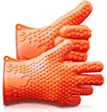 Ekogrips Max Heat Silicone BBQ Grill Oven Gloves - Best Heat Protection - 3 Sizes