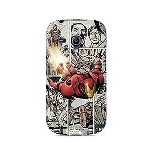 Ebby Iron Man Comic Premium Printed Case For Samsung S3 Mini 8190