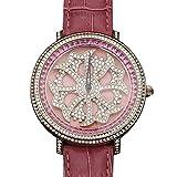 ブリラミコ(BRILLAMICO) BRILLAMICO 腕時計 スワロフスキー 本革 ピンク・ゴールド PINK_G