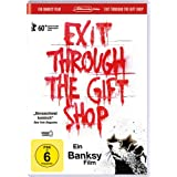 "Banksy - Exit Through the Gift Shop (inkl. Wendecover und deutscher Fassung)von ""Chris King"""