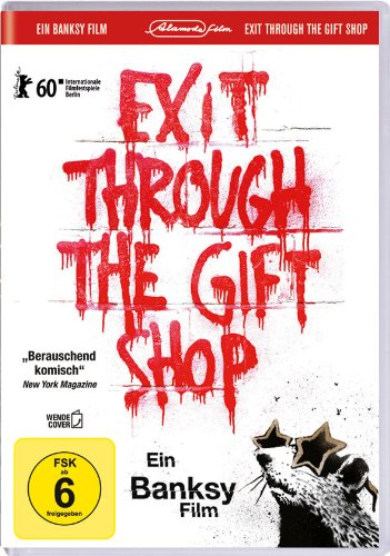 Banksy - Exit Through the Gift Shop (inkl. Wendecover und deutscher Fassung) [Alemania] [DVD]