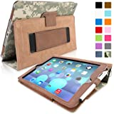 iPad Air (iPad 5) Case, Snugg™ - Smart Cover with Flip Stand & Lifetime Guarantee (Digital Camo Leather) for Apple iPad Air (2013)