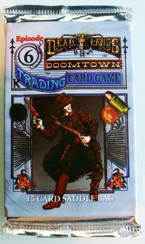 Deadlands Doomtown CCG Rolling Thunder Episode 6 Booster Pack - 1