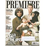 Premiere Magazine July 2001 Mark Wahlberg and Helen Bonham Cover-Planet of the Apes Feature book cover