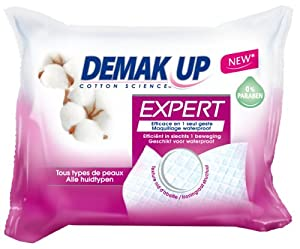 Demak'up Lingettes Expert Tous Types de Peaux x 23 Lot de 2