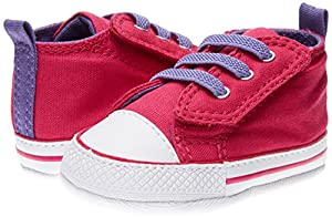 Converse Zapatillas Chuck Taylor First Star Easy Slip Pink 19