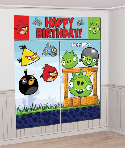 Angry birds party supplies for Angry bird party decoration ideas