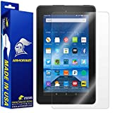 "ArmorSuit MilitaryShield - Amazon Fire 7"" Screen Protector (2015 Released) Anti-Bubble Ultra HD & Touch Responsive + Lifetime Replacement"