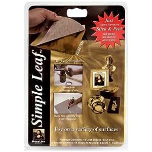 Speedball Mona Lisa Gold Simple Leaf, 18 Sheet Pack