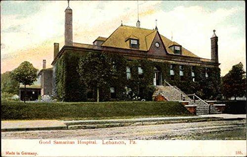 Good Samaritan Hospital Lebanon Pennsylvania Original Vintage Postcard