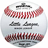 Worth RIF-5S Synthetic Leather RIF Level 5 Little League Baseball (Sold in Dozens)