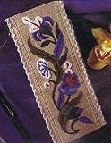 Blue Garland Bookmark Embroidery Kit 3 x 7 75cm x 175cm DMC