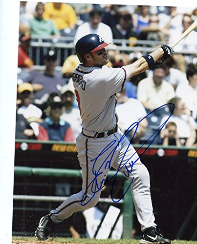 Buy Autographed Atlanta Braves Eli Marrero Photo Now!