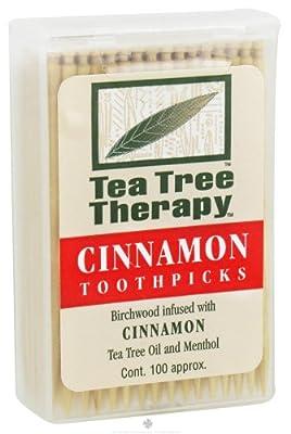 Tea Tree Therapy - Tea Tree Toothpicks Cinnamon