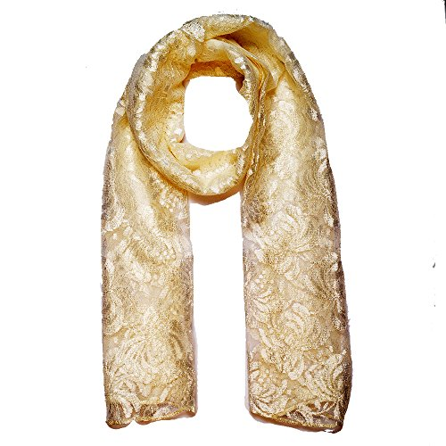 Add To Style Add To Style Embellished Rayon Women's Scarf