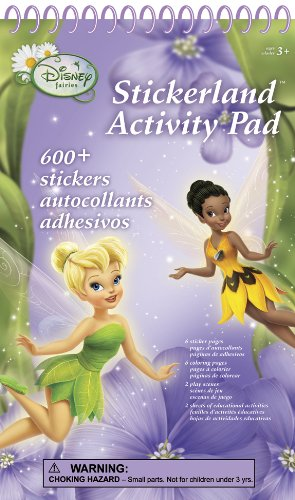 Disney Fairies Stickerland Activity Pads
