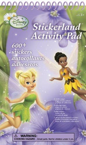 Disney Fairies Stickerland Activity Pads