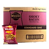 Walkers Crisps Smoky Bacon 48 x 32,5g